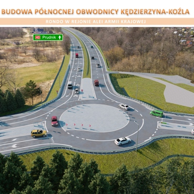 Ruszyła budowa obwodnicy północnej Kędzierzyna-Koźla