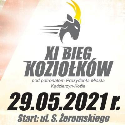 XI Bieg Koziołków pod patronatem Prezydenta Miasta Kędzierzyn-Koźle